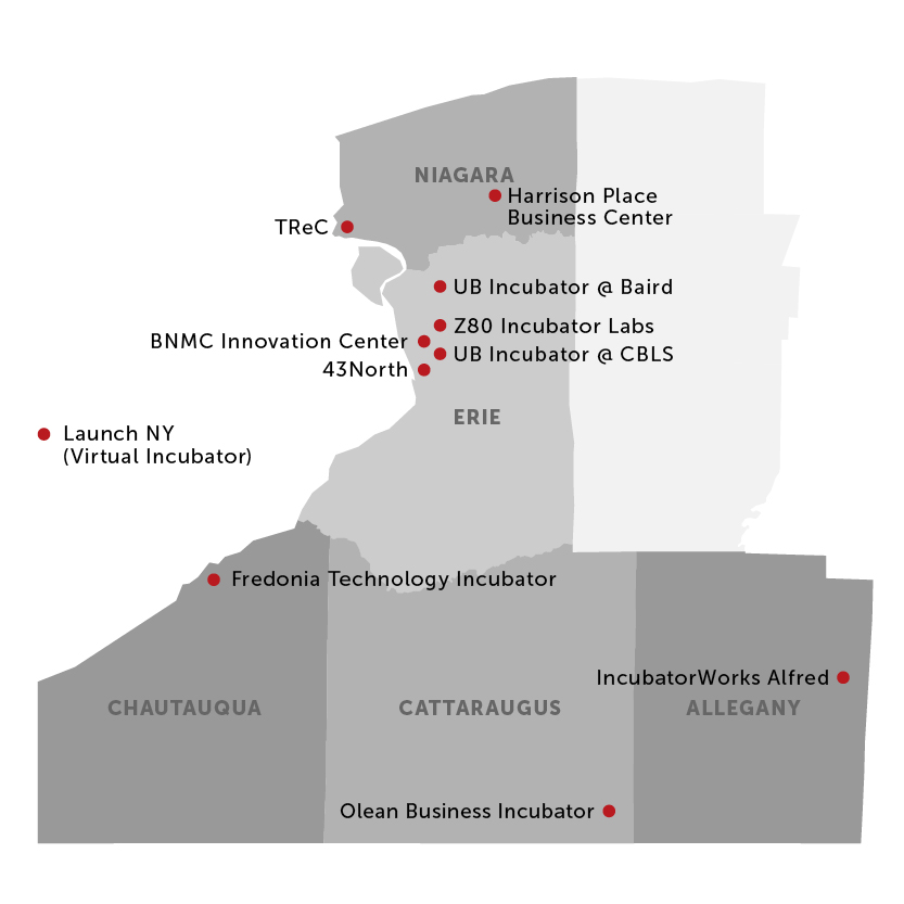 WNY Incubator Network WNY Innovation Hot Spot
